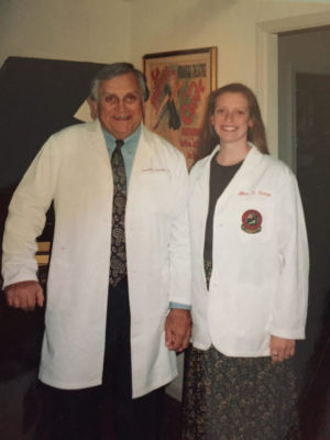 ob-gyn | CU Medicine OB-GYN East Denver (Rocky Mountain) | photo girl and father holding hands