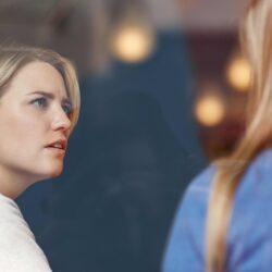 Woman Learning About Coronavirus from Friend | CU Medicine OB-GYN East Denver (Rocky Mountain) | Denver, CO