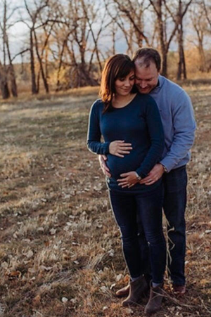 pregnancy   Kate and Chris' maternity photo   CU Medicine OB-GYN East Denver (Rocky Mountain)